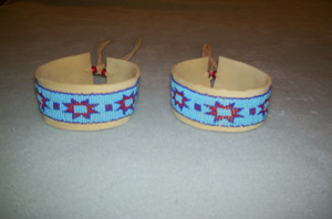 beaded arm bands
