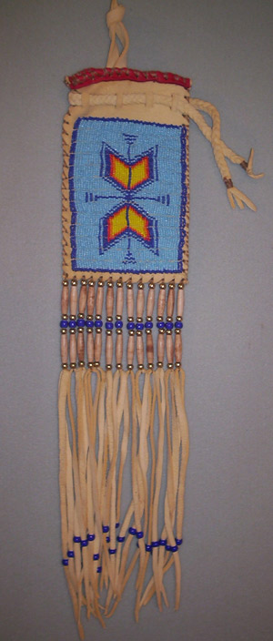 beaded pipe bag